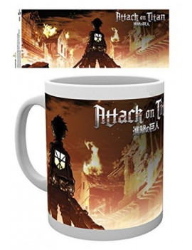 Attack On Titan Clé Art Mug