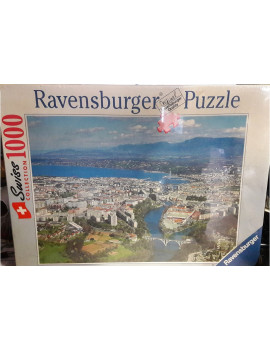 Puzzle 1000 pièces Swiss collection : GENEVE