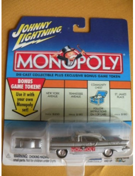 Johnny Lightning Monopoly...