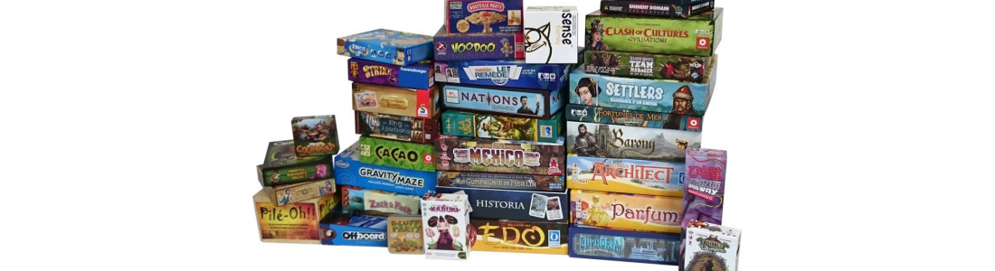JEUX DE PLATEAU - BOARD GAMES - CARTES cards