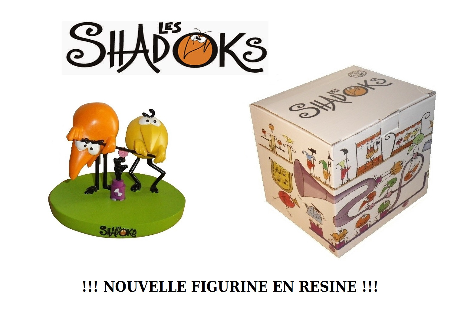 FIGURINE SHADOKS ! 40€ (ENVOI INCLUS !!!)